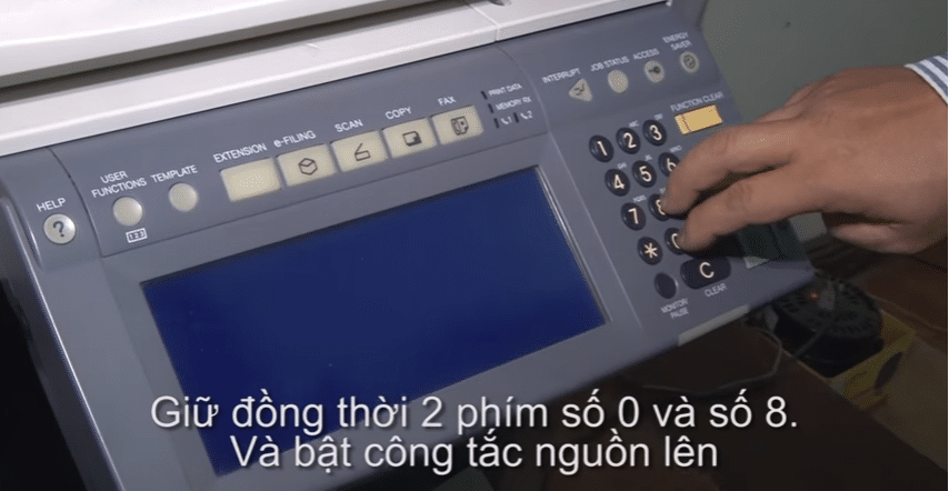 cach khac phuc loi call for service - Thue May